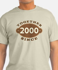 2000 Wedding Anniversary T-Shirt
