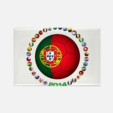 Portugal futebol soccer Magnets