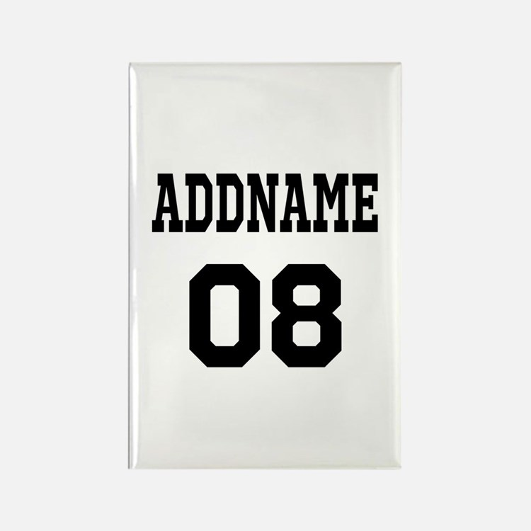 Custom Sports Theme Rectangle Magnet (100 pack)