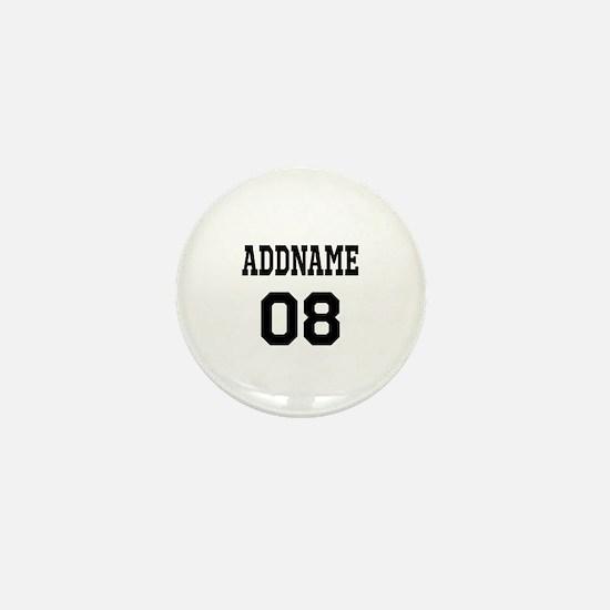 Custom Sports Theme Mini Button