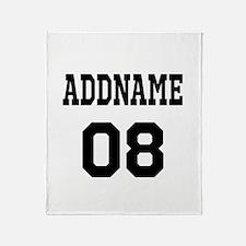 Custom Sports Theme Throw Blanket