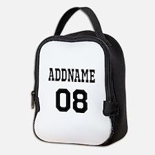 Custom Sports Theme Neoprene Lunch Bag