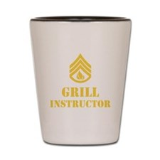 Grill Instructor Shot Glass