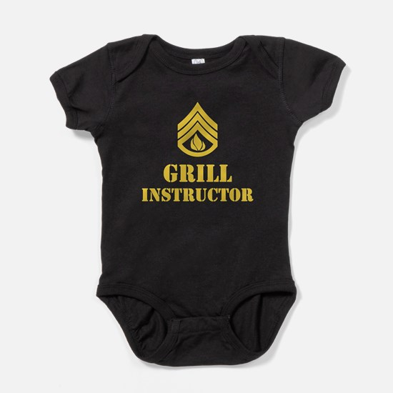 Grill Instructor Baby Bodysuit