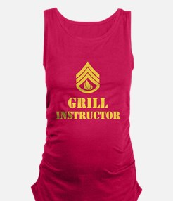 Grill Instructor Maternity Tank Top