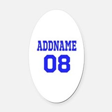 Jersey Number Car Magnets Personalized Jersey Number Magnetic - Custom euro style car magnets