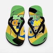 World Trophy Brasil FULL Flip Flops