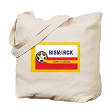 Bismarck Flag Tote Bag