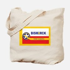 Bismarck Flag Tote Bag