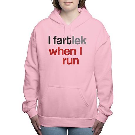 Funny I FARTlek © Women's Hooded Sweatshirt