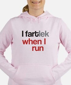 Funny I FARTlek © Women's Hooded Sweatshirt