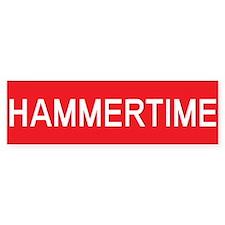 Stop Hammertime Bumper Bumper Sticker