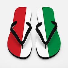 Flag of Italy Flip Flops