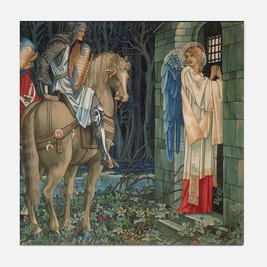 The Failure of Sir Gawaine Tile Coaster