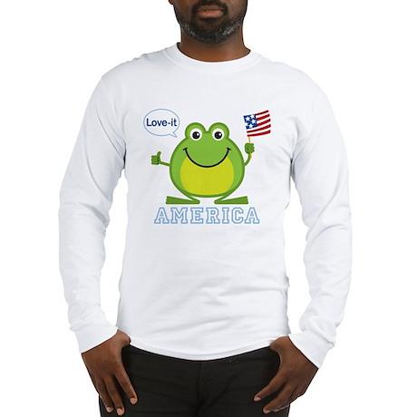 America, Love-it: Long Sleeve T-Shirt