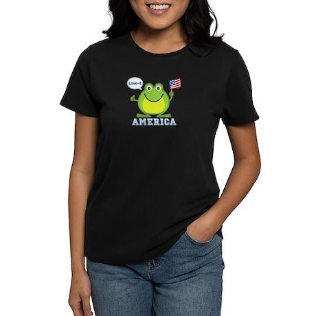 America, Love-it: Women's Dark T-Shirt