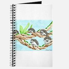 Daily Doodle 5 Climbing Hedgehogs Journal