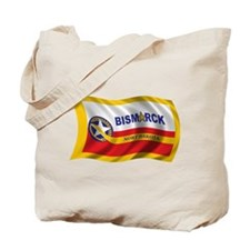 Wavy Bismarck Flag Tote Bag