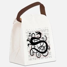 Fafnir The Norse Dragon Canvas Lunch Bag