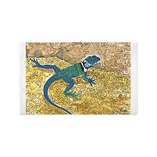 Daily Doodle 6 Sunning Lizard 3'x5' Area Rug