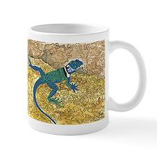 Daily Doodle 6 Sunning Lizard Mugs