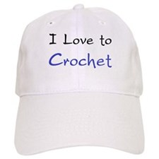 i love to Baseball Cap