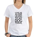 Dogs Womens V-Neck T-shirts