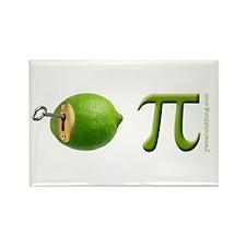 Key Lime Pi 2 Rectangle Magnet