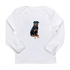 Rottweiler (gp) Long Sleeve Infant T-Shirt