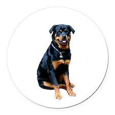 Rottweiler (gp) Round Car Magnet