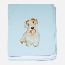 Sealyham T (#1L) baby blanket