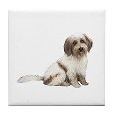 Tibetan Terrier (C) Tile Coaster