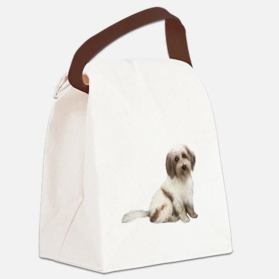 Tibetan Terrier (C) Canvas Lunch Bag