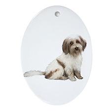 Tibetan Terrier (C) Ornament (Oval)