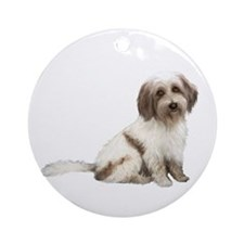 Tibetan Terrier (c) Ornament (round)
