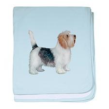 Petit Bassett (stand) baby blanket