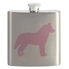 Siberian Husky Dog Breed Flask