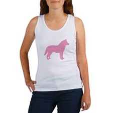 Siberian Husky Dog Breed Women's Tank Top