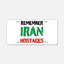 Remember Iran Hostages Aluminum License Plate