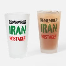 Remember Iran Hostages Drinking Glass