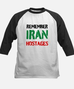 Remember Iran Hostages Baseball Jersey