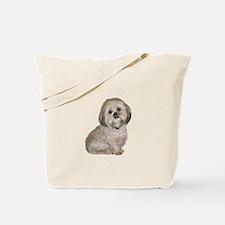 Lhasa Apso (L) Tote Bag