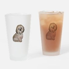 Lhasa Apso (L) Drinking Glass