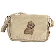 Lhasa Apso (L) Messenger Bag