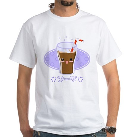 Kawaii Soda White T-Shirt