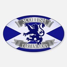 tartan army collection Decal