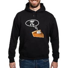 Pumpkin Pie Pi Math Humor Hoody