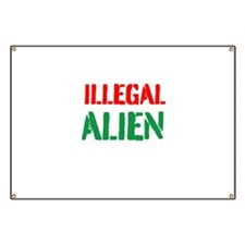 Illegal Alien Banner