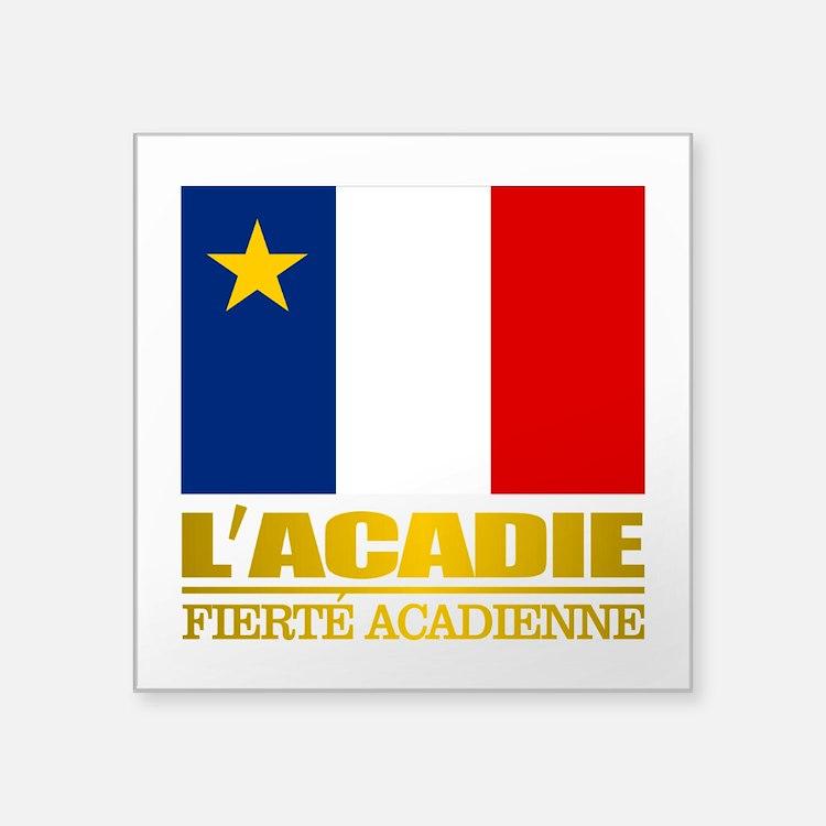 Acadian Flag Sticker
