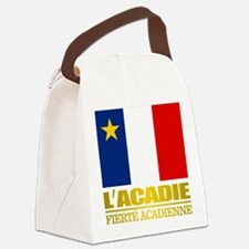 Acadian Flag Canvas Lunch Bag